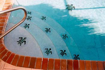 Attirant Mosaic Swimming Pool Tiles