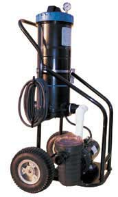 Superieur Commercial Pool Portable Filter Vacuums